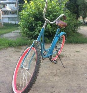"""Велосипед в стиле """"ретро"""""""