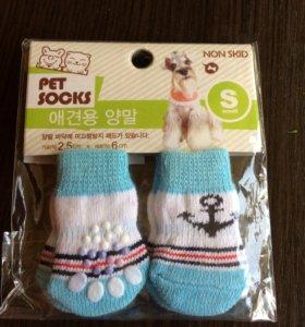 Носки для животных , новые не использовались