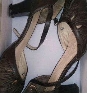 Туфли-Босоножки Натуральная кожа
