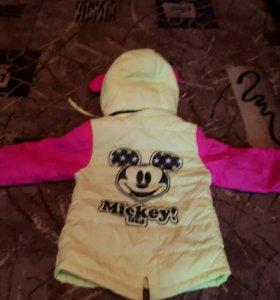 Курточка для девочки!!!