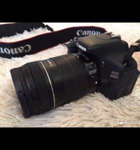 Фотоаппарат зеркалка Canon EOS 600D