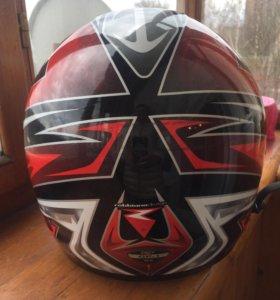 шлем гоночный