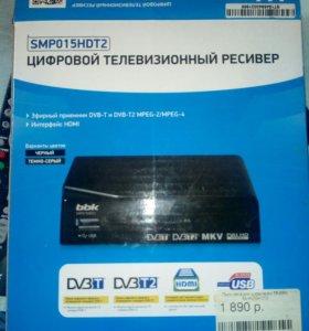 Цифровой телевизионный ресивер BBK SMP015HDT2