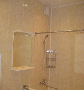 Откосы, ПВХ- ванные комнаты, балконы, лоджии.