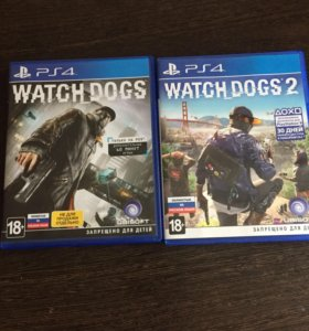 Игры для PS4 WATCH DOGS 1-2
