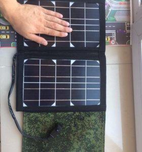Туристическая складная солнечная батарея