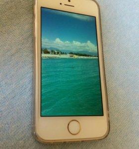 Айфон 5s золотистый