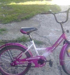 Макспро велосипед  в хорошем состоянии