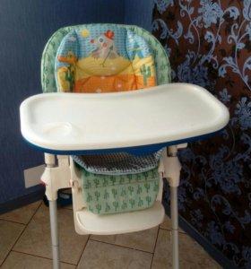 Детский стульчик для кормления чикко полли