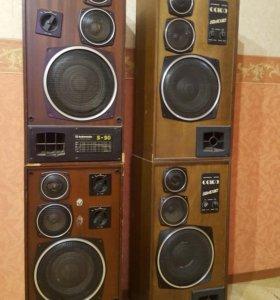 Колонки Radiotehnica s90 и АС50-012