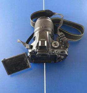 Nikon D5200 с объективом VR 18-105 mm