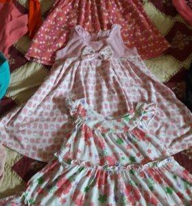 Сарафаны и платье размер 104