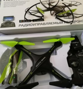 Квадрокоптер phantom fpv edition