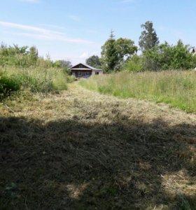 обкос травы