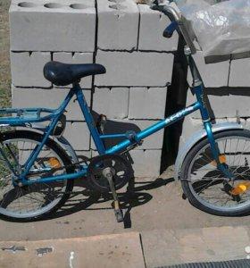 Велосипед десна брянск складной