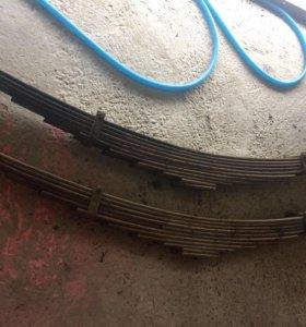 Передние рессоры КАМАЗ 65115 / 53215
