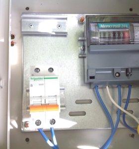 Электрощитовой ящик (однофазный)