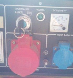Дизельный генератор 220/380 В