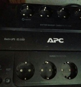 ИБП APC Black-ups ES-550 (безперебойник, пилот)