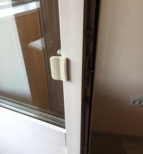 Двери пластиковые балконные