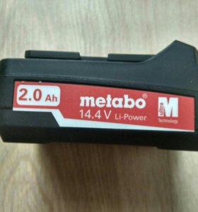 Аккумулятор metabo 14.4v