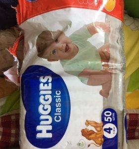Huggies подгузники 7-14 кг