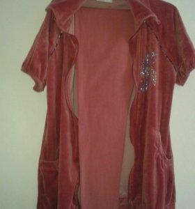 Домашний костюм с лосинами