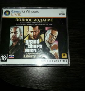 Продается игра Grand Theft Auto 4