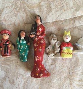 Статуэтки из керамики интерьерные