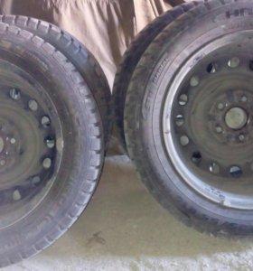Продам колеса с дисками