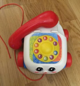 Телефон-каталка Fisher Price