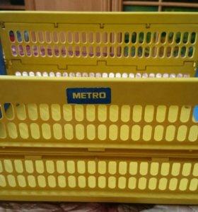 Ящики складные пластиковые