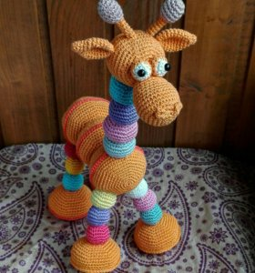 Жираф,игрушка,друг