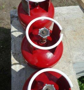 Газовый балон пяти литровые заправленные