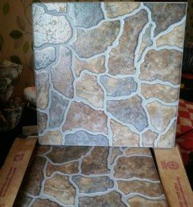 Плитка  напольная, стеновые панели ПВХ.