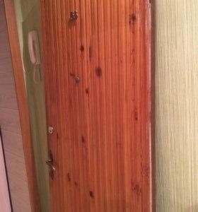 Дверь входная с замком и дверь межкомнатная
