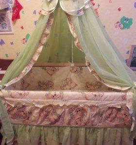 Комплект в детскую кроватку(5 предметов)