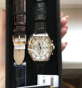 Новые позолоченные часы Invicta 14330