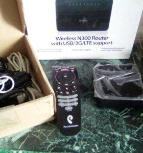 Беспроводной N300 маршрутизатор с поддер. USB/3G