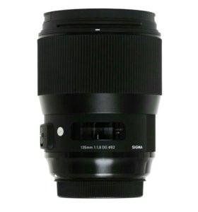 Прокат Sigma AF 135mm f/1.8 DG HSM Art Canon EF