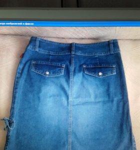 Юбочка джинсовая р 42_44