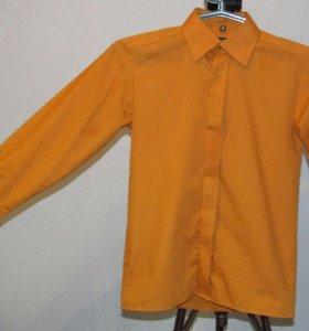 Светло-коричневая рубашка