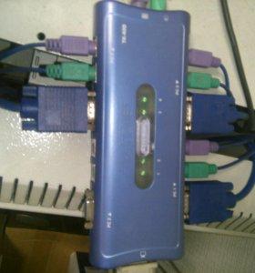 Kvm switch trendnet k-400