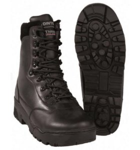 Кожаные тактические ботинки