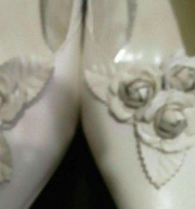 Свадебные туфли 38р