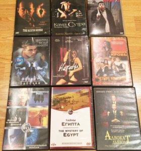 DVD диски пакетом 27 штук