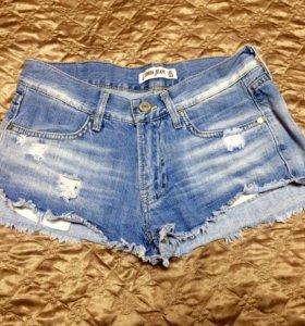 Шорты джинсовые размер 42-44