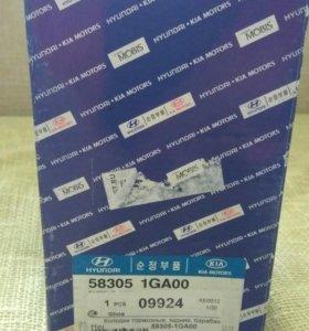 Колодки тормозные kia hyundai 58305-1GA00