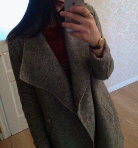 Пальто шерсть и полиестер
