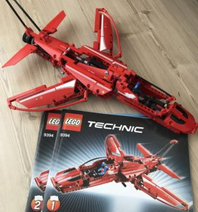 Лего техник реактивный самолёт